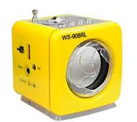 Портативный MP3 плеер WS-908RL с LED подсветкой