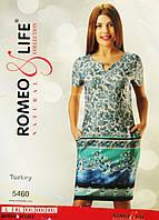 """Платье женское """"Romeo&Life"""" L,XL,2XL,3XL,4XL Турция"""