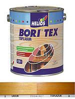 Боритекс топлазурь (сосна) лак-пропитка, Деревозащитная лак-пропитка на воске, 0.75 л