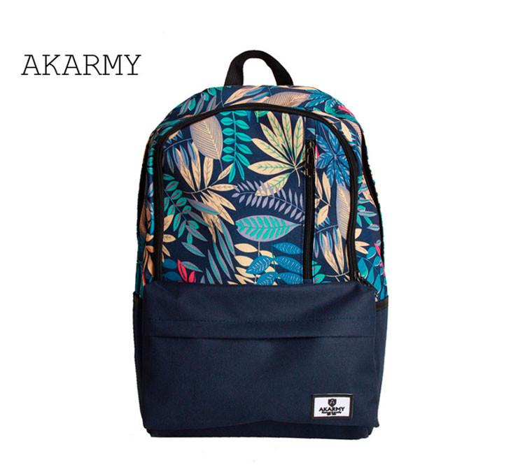 Рюкзак Akarmy синего цвета