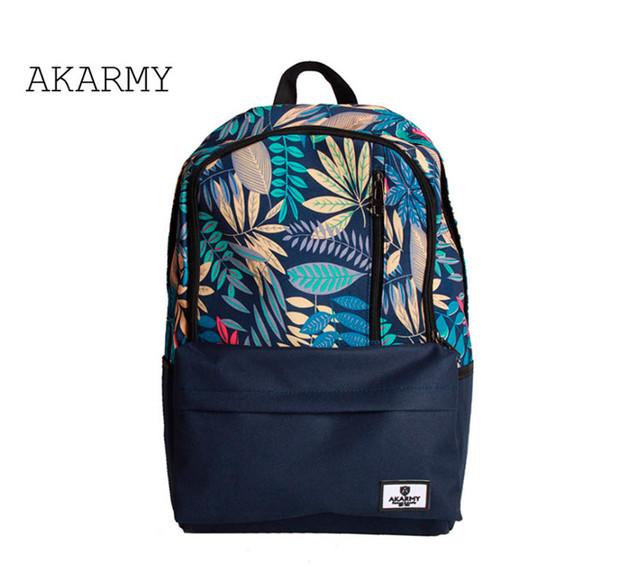 Рюкзак Akarmy | синий вид спереди