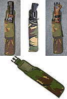 Чехол для штык-ножа в расцветке DPM. Великобритания, оригинал.