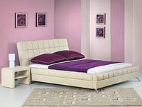 Кровать BONITA 180x200 бежевый Halmar + тумба прикроватная SARA