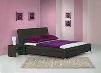 Кровать BONITA 180x200 темно-коричневый Halmar + тумба прикроватная SARA
