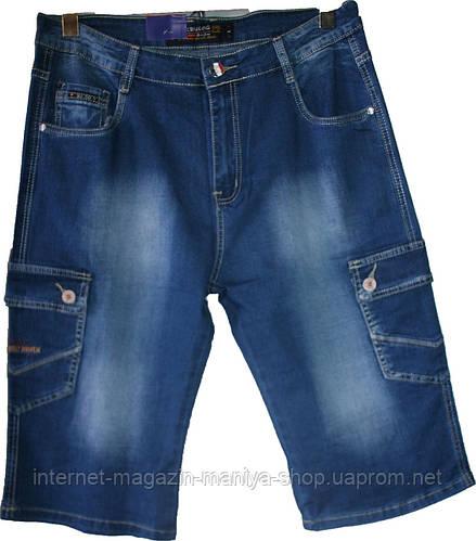 Мужские  шорты джинсовые батал