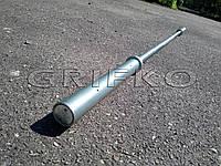Гриф для олимпийской штанги 50 мм, до 400 кг, 220см, оцинкованный (хром)  пауэрлифтинг