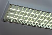 Установка офисных светильников