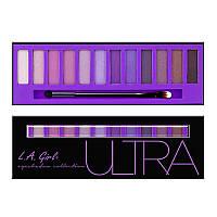 Палетка теней L.A. Girl USA Ultra Brick Eye Shadow Palette, фото 1