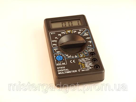 Мультиметр цифровой DT 832 Тестер, фото 2