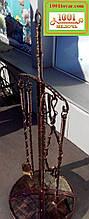 Набор аксессуаров для камина и мангала Щит и меч