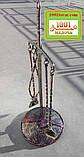 Набор аксессуаров для камина и мангала Щит и меч, фото 2