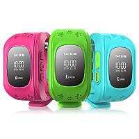 Детские часы с телефоном и GPS трекером Q50