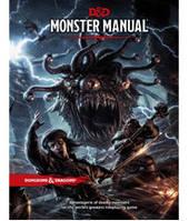 Подземелья и драконы: Книга монстров (5е издание) (Dungeons & Dragons: Monster Manual (Fifth Edition)) настольная игра