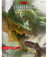 Подземелья и драконы: Стартовый набор (5-е издание) (англ) (Dungeons & Dragons Next: Starter set (5th Edition) (eng)) настольная игра