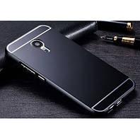 Бампер металлический с вставкой Meizu M2 / M2 Mini Black