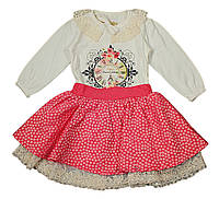 Комплект для девочки Lamond Rozi р.86 красный