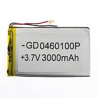 Аккумулятор литий-полимерный 0460100P 3.7V3000mAh