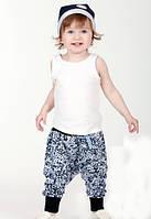 Летние легенькие штанишки гаремы пятнистые. Размеры: 92 см, фото 1