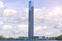 Для проверки лифтов построят самую высокую башню в мире