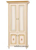Світ Меблів Парма шкаф 2Д 2072х978х615мм прованс белый