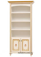 Світ Меблів Парма шкаф книжный 2072х978х475мм прованс белый