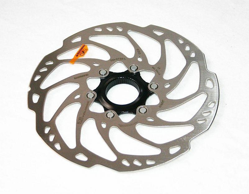Гальмівний ротор Shimano SM-RT68-L Center Lock 203 мм Ice-Tech