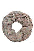 Вискозный шарф-снуд отменного качества