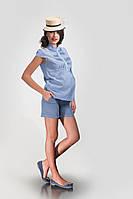 Джинсовые шорты для будущих мам