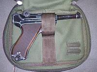 Барсетка для пневматического пистолета олива, фото 1