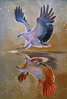 «Орел на охоте» картина маслом