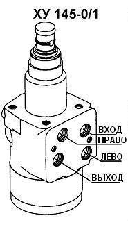 Подсоединение насоса дозатора ХУ-145-01/1 (-10/1 с клапаном).