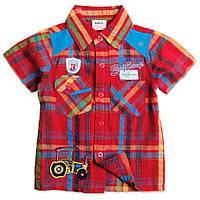 Рубашка летняя для мальчика с коротким рукавом