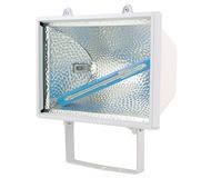 Галогеновый прожектор HL102 1000W белый, черный R7S 220-240V / 50-60Hz