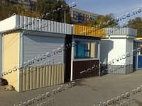 Пост охраны, помещения для наблюдения и охраны