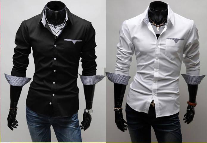 Стильная сорочка мужская, фото 2