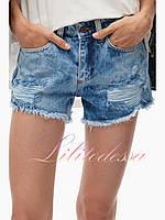 Женские джинсовые Шорты варенки короткие