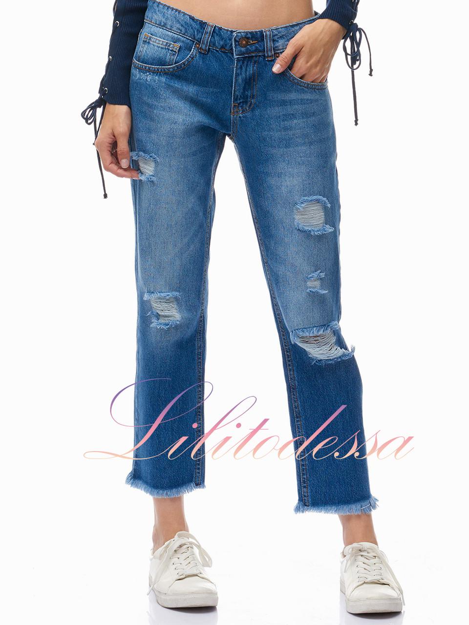 Купить женские джинсы бойфренды