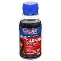 Чернила WWM CARMEN для Canon 100г Black Водорастворимые (CU/B-2) универсальные