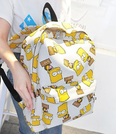 Молодежный рюкзак симпсон Bart