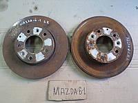 Диск тормозной передний левый и правый  для Mazda 6, АКПП, 2.0i, 2004 г.в. GF3Y3325XA, G25Y3325XA