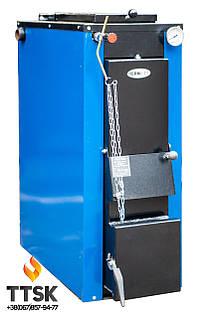 Твердотопливный котел ТЕРМІТ-ТТ 25 кВт Стандарт (с теплоизоляцией и обшивкой)