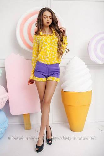 Рубашка женская 3 цвета