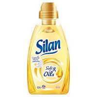 Ополаскиватель для белья Silan 1,5 л soft & oil (голд)