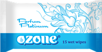 Влажные салфетки Ozone N  Platinum, 15 шт