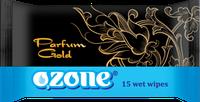 Влажные салфетки Ozone N Gold, 15 шт