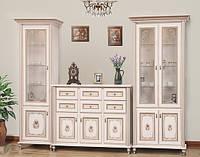 Світ Меблів Парма гостиная комплект №2 2072х3046х540мм прованс белый