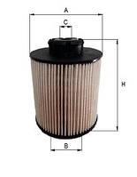 Фильтр топливный CE1332ME (9060920505) для MB AXOR, MB ATEGO
