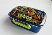 """Ланч-бокс 1 Вересня """"Turtles"""" Ниндзя черепашки 705462"""