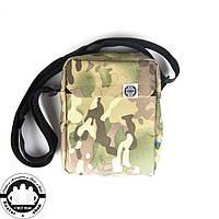 Сумка на плечо: White Sand Messenger Bag Цвет Multicam