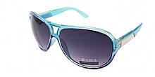 Голубые очки солнцезащитные
